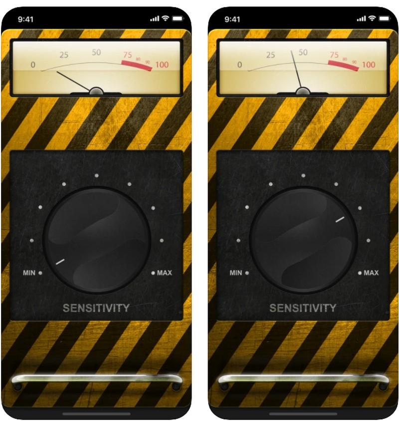 metal detector ios app
